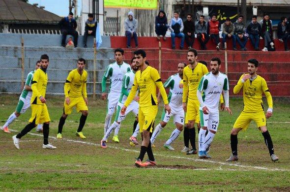 نتایج هفته هشتم گروه چهارم لیگ دسته سوم باشگاه های کشور ( مرحله اول )