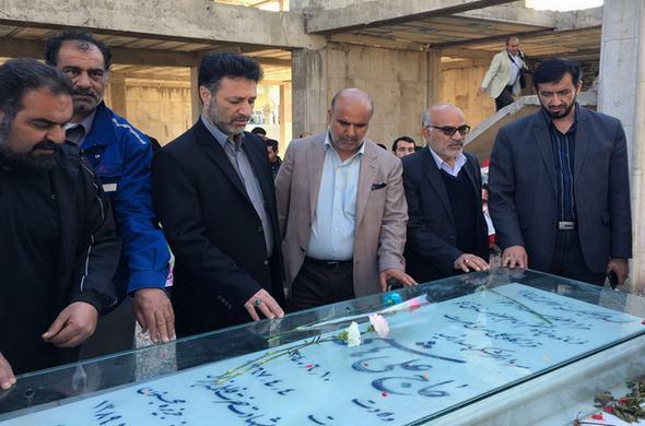 تجدید میثاق جامعه ورزش با شهدای خوزستان