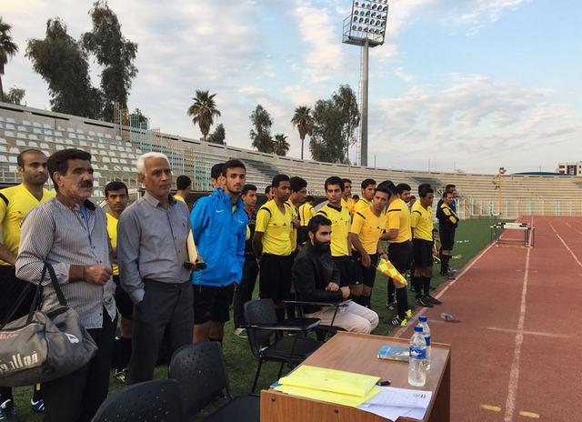 تصاویر/استعدادیابی داوری فوتبال در خوزستان