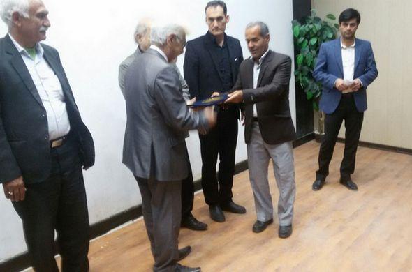رئیس هیئت فوتبال مسجدسليمان معرفی شد